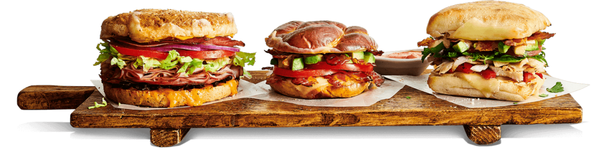 sandwich-board